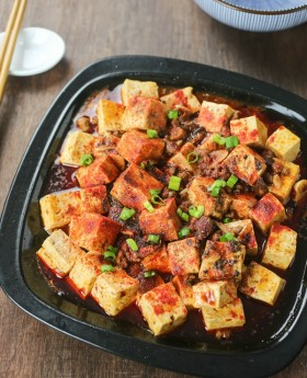 authentic mapo tofu
