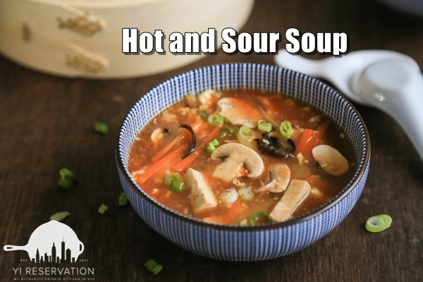 how to make Chinese takeout hot and sour soup